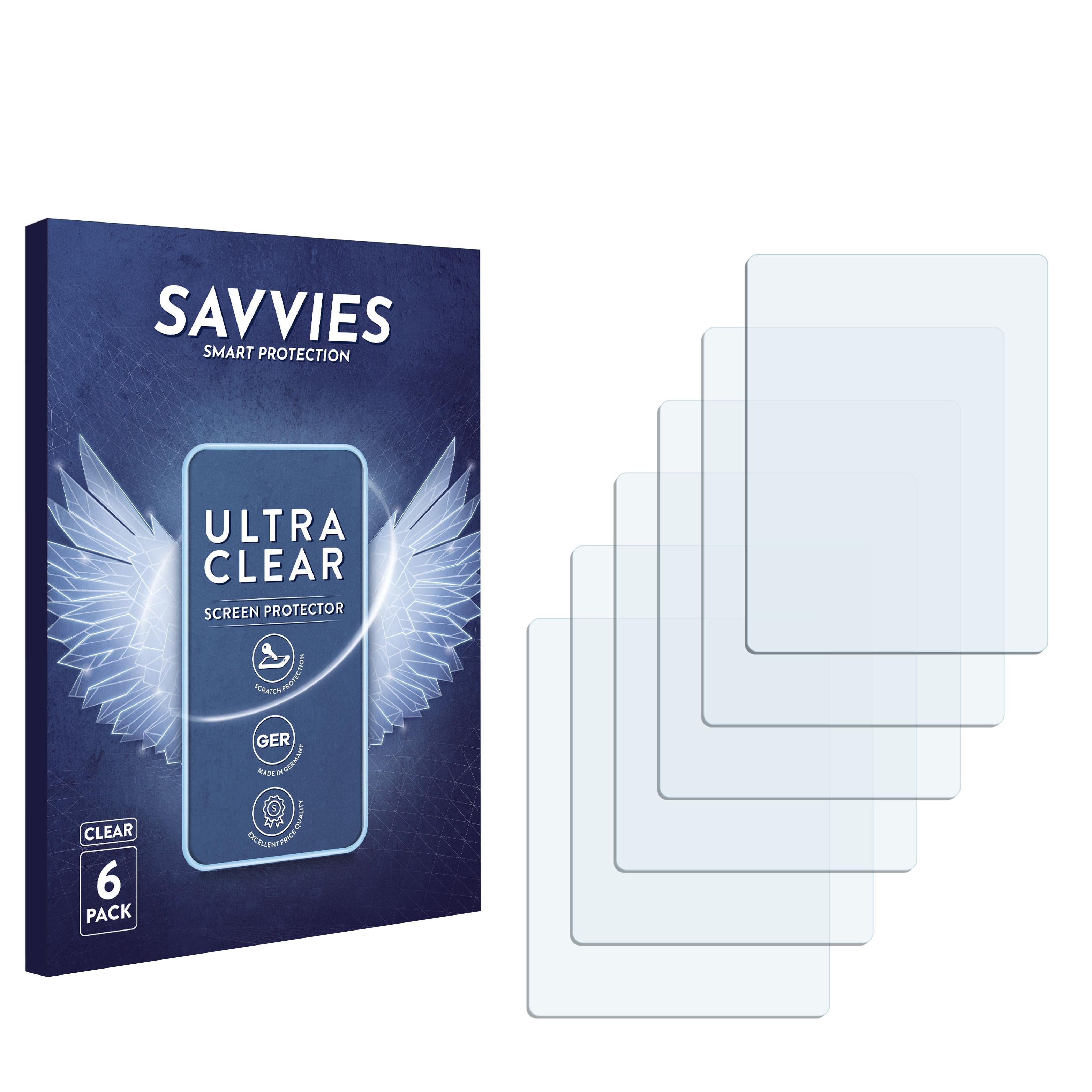 6x Savvies SU75 čirá ochranná fólie pro Alcatel One Touch OT-600