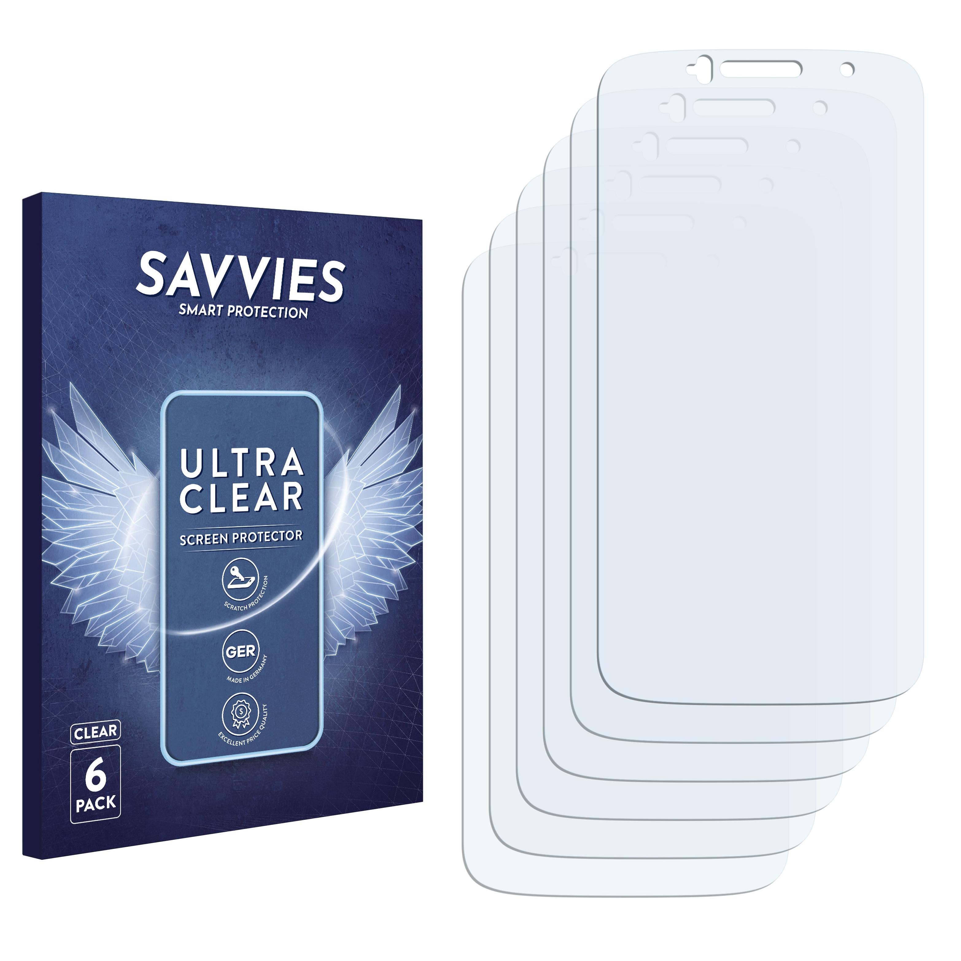 6x Savvies SU75 čirá ochranná fólie pro Alcatel One Touch Evolve 2