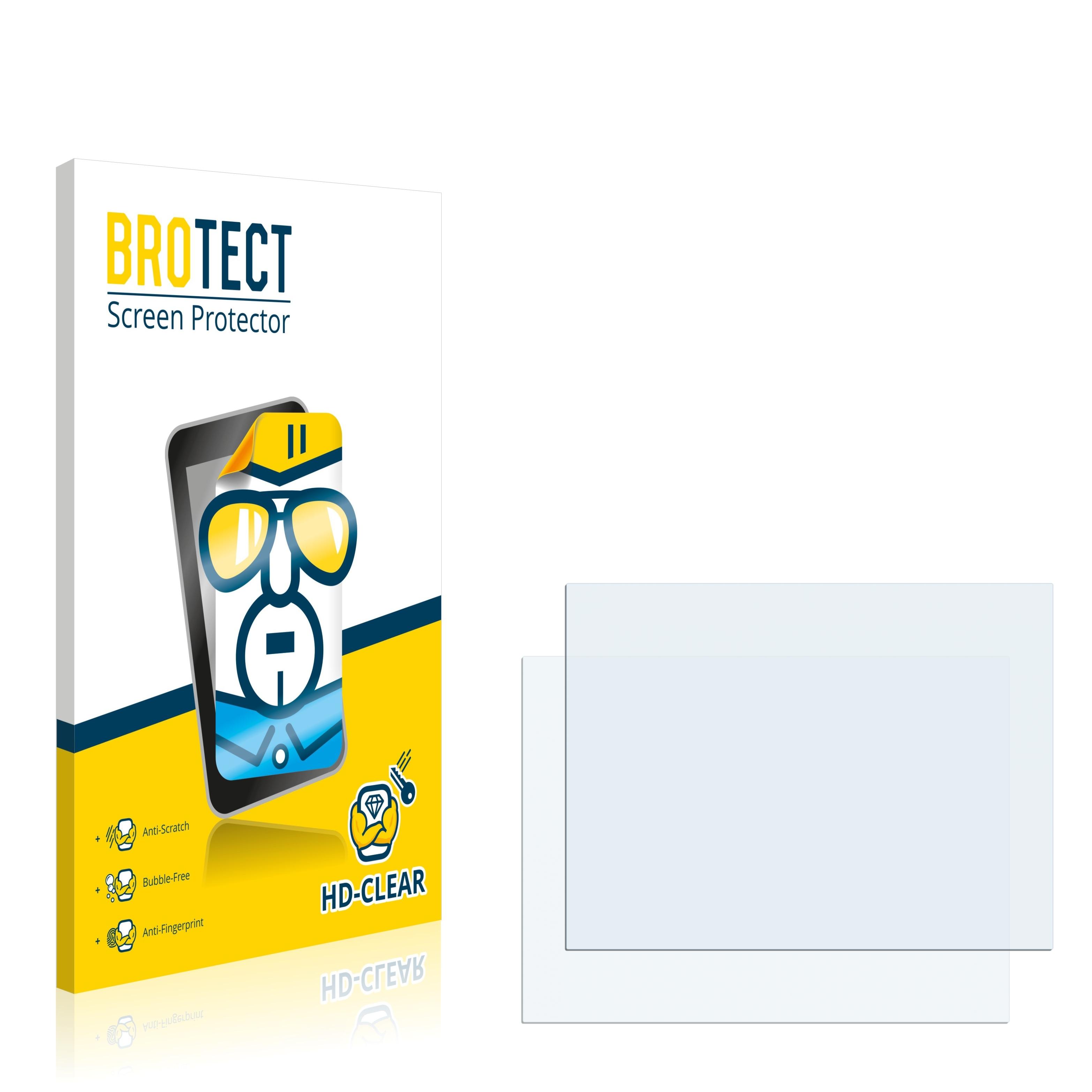 2x BROTECT HD-Clear čirá ochranná fólie pro ABB Robotic IRC5 M2004