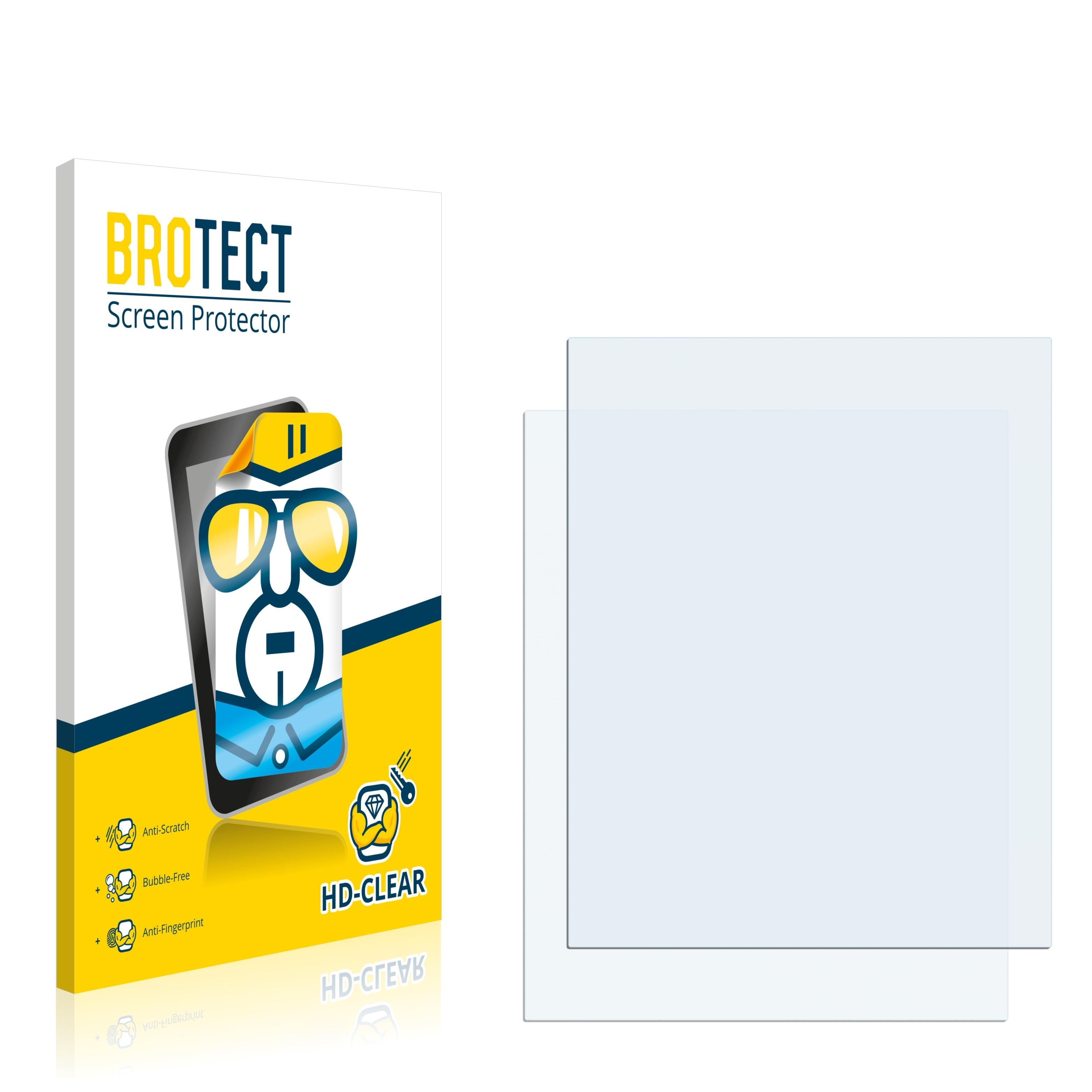 2x BROTECT HD-Clear čirá ochranná fólie pro Aastra 612d