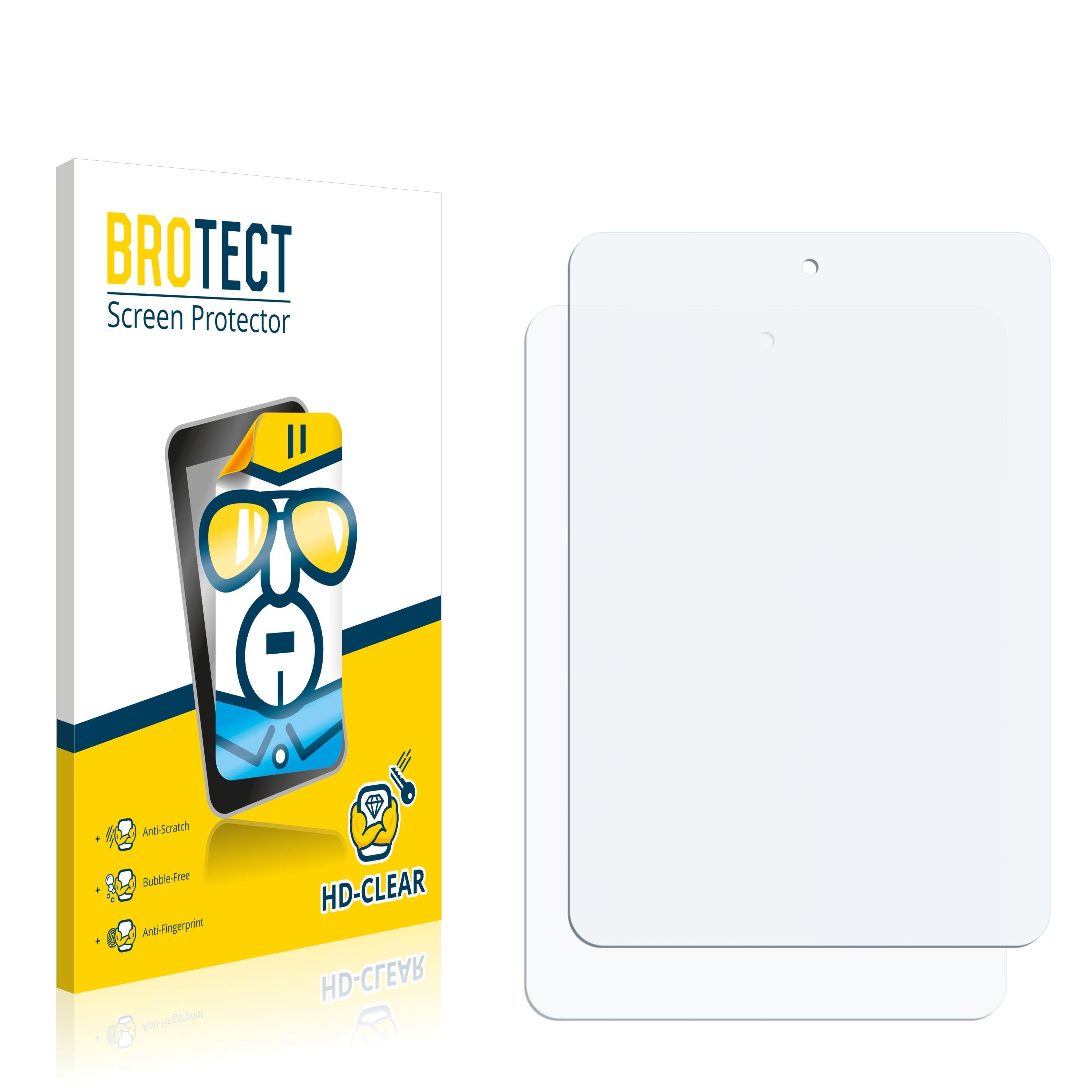2x BROTECT HD-Clear čirá ochranná fólie pro 5-FNF iFive Mini 4