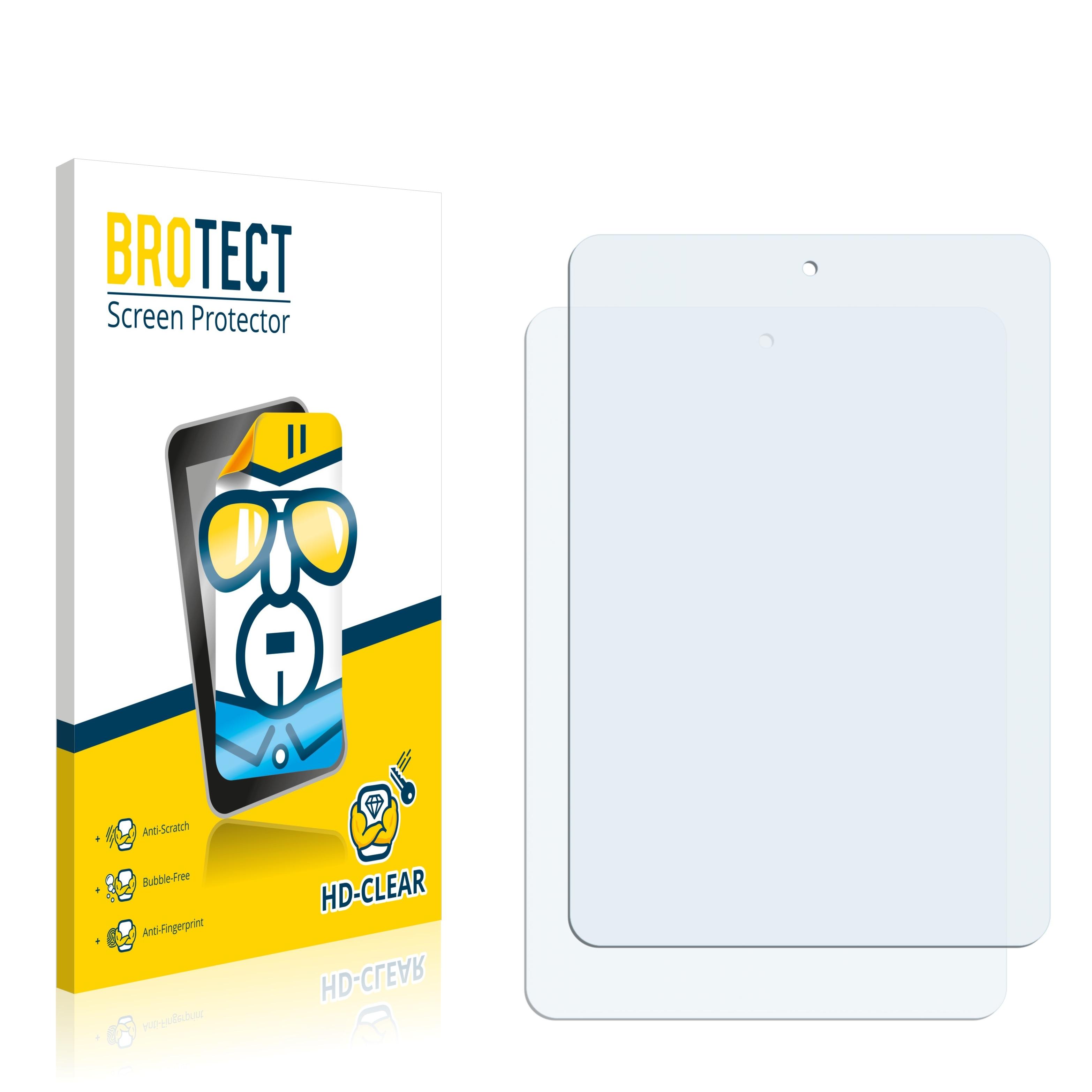 2x BROTECT HD-Clear čirá ochranná fólie pro 5-FNF iFive Mini 3