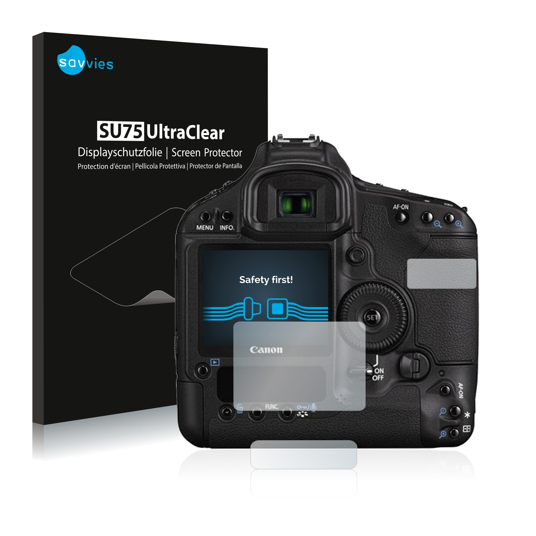 6x Savvies SU75 čirá ochranná fólie pro Canon EOS 1D Mark III