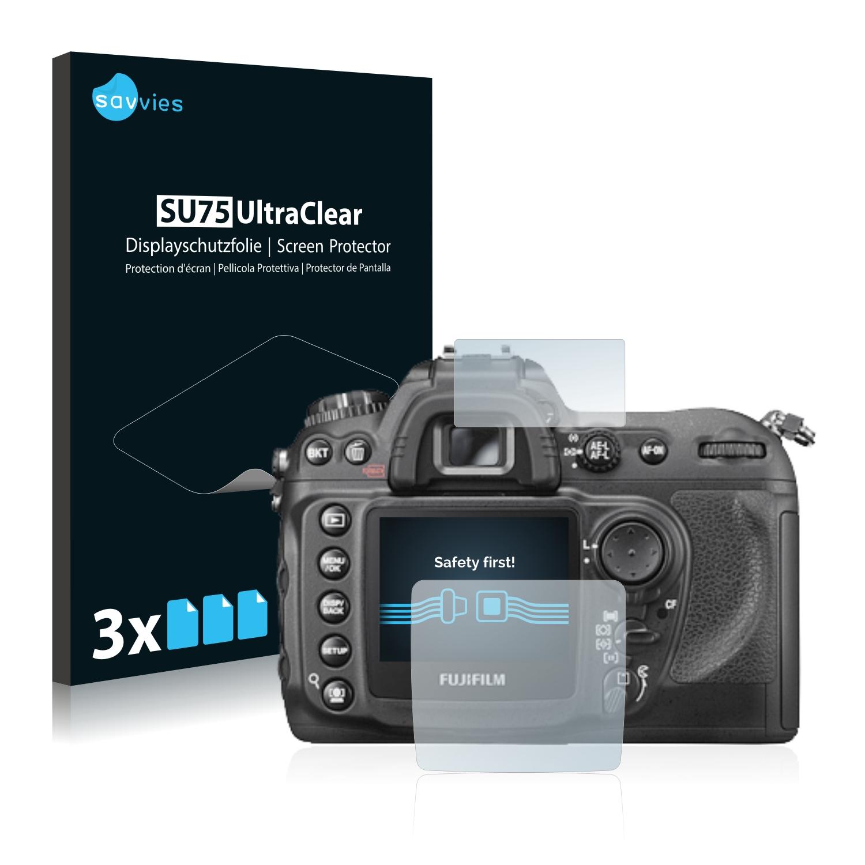 6x Savvies SU75 čirá ochranná fólie pro Fujifilm FinePix S5 PRO