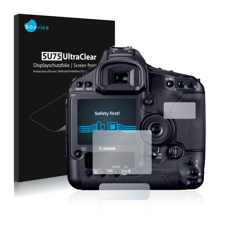 6x Savvies SU75 čirá ochranná fólie pro Canon EOS 1D Mark IV