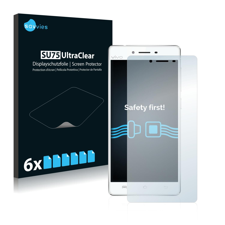 6x Savvies SU75 čirá ochranná fólie pro Vivo X5 Pro