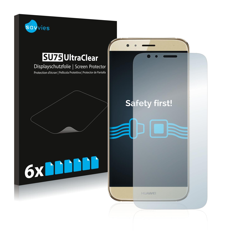 6x Savvies SU75 čirá ochranná fólie pro Huawei G8