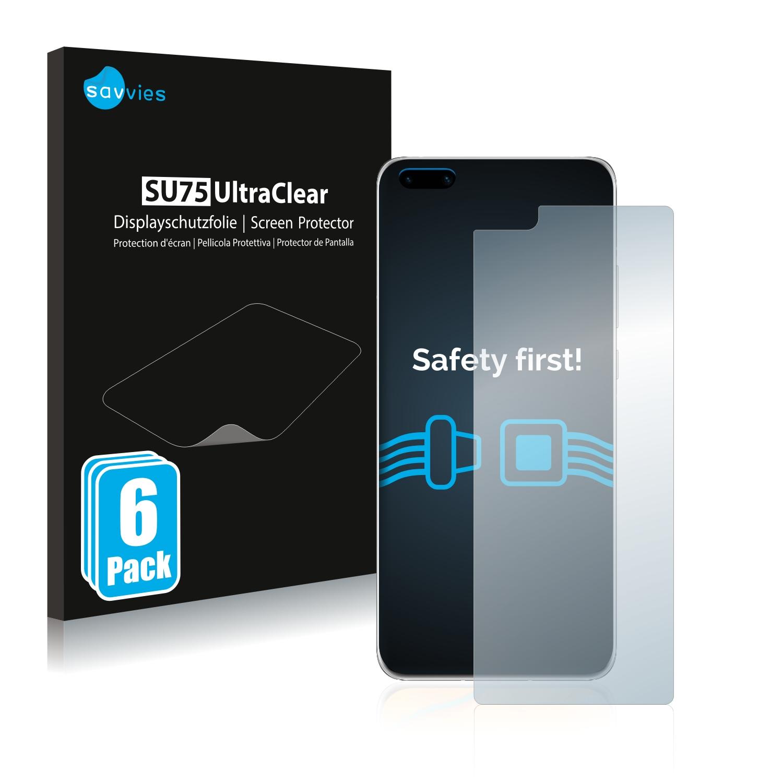 Ochranná fólie Savvies na Huawei P40 Pro Plus, 6ks