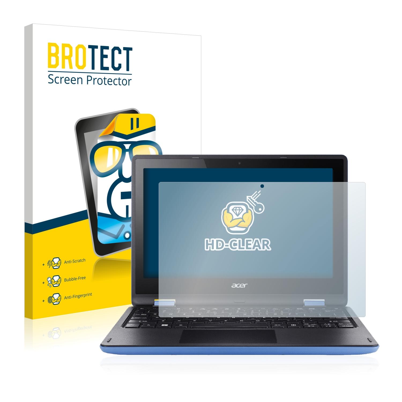 2x BROTECT HD-Clear čirá ochranná fólie pro Acer Aspire R11 R3-131T-P81Z