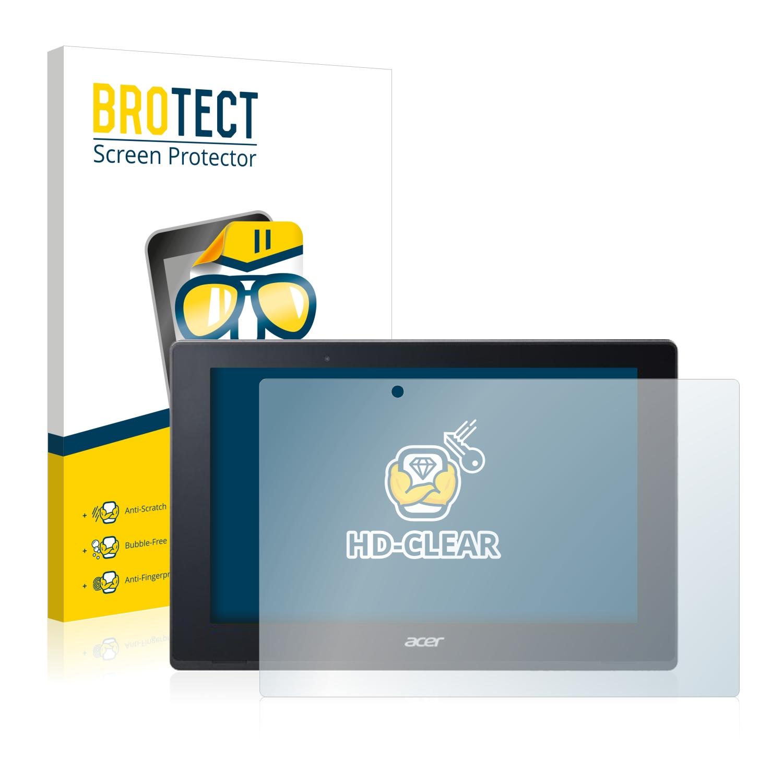 2x BROTECT HD-Clear čirá ochranná fólie pro Acer Aspire Switch 10 V SW5-017P-437