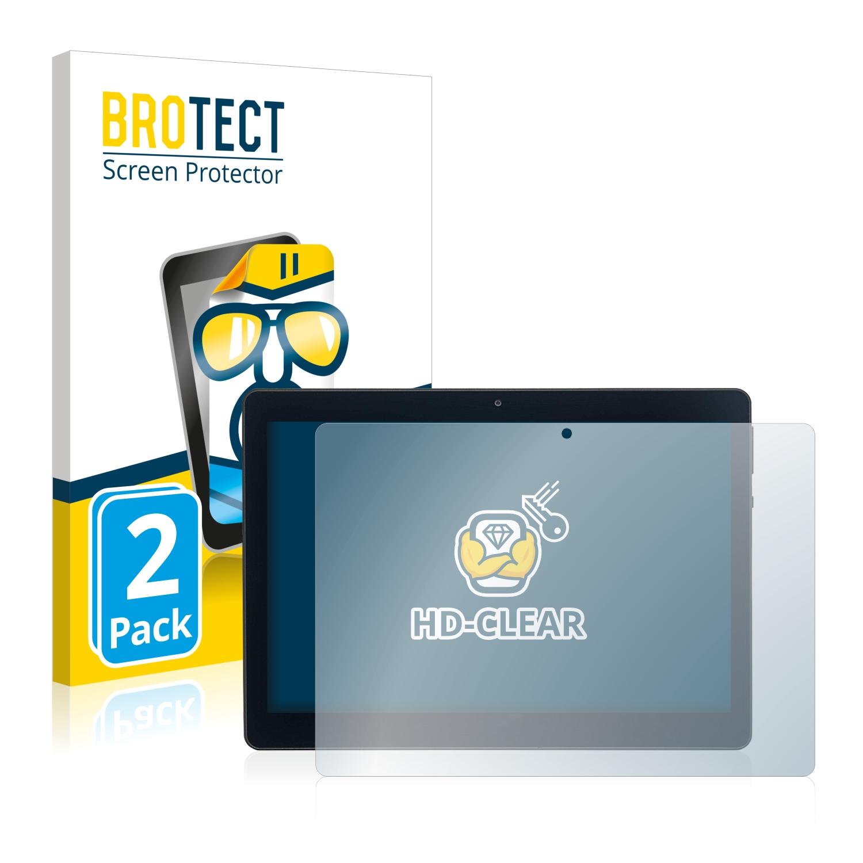2x BROTECT HD-Clear čirá ochranná fólie pro Acepad A140 10.1