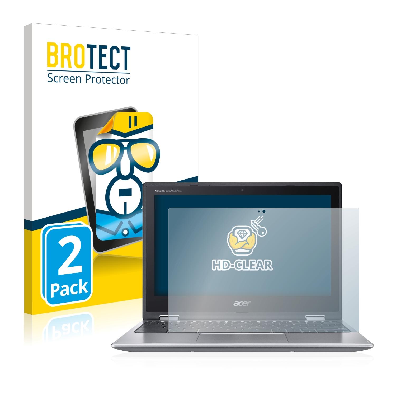 2x BROTECT HD-Clear čirá ochranná fólie pro Acer Chromebook 311