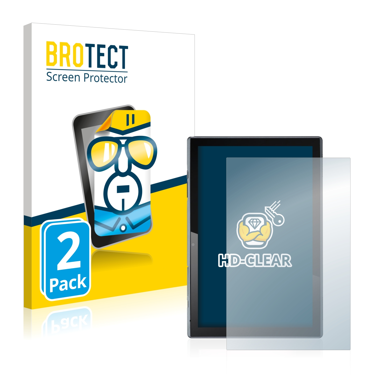 2x BROTECT HD-Clear čirá ochranná fólie pro Acer ACTAB1021 (na výšku)
