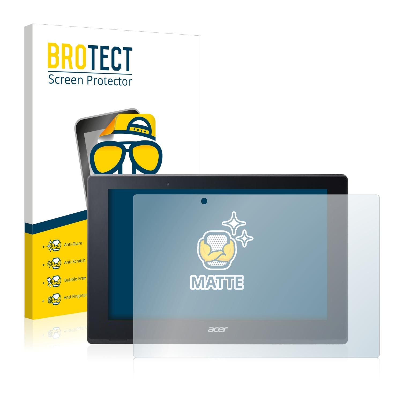 2x BROTECT Matná ochranná fólie pro Acer Aspire Switch 10 V SW5-017P-437 - antireflexní,
