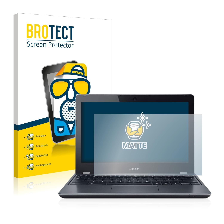 2x BROTECT Matná ochranná fólie pro Acer Chromebook C740 - antireflexní,