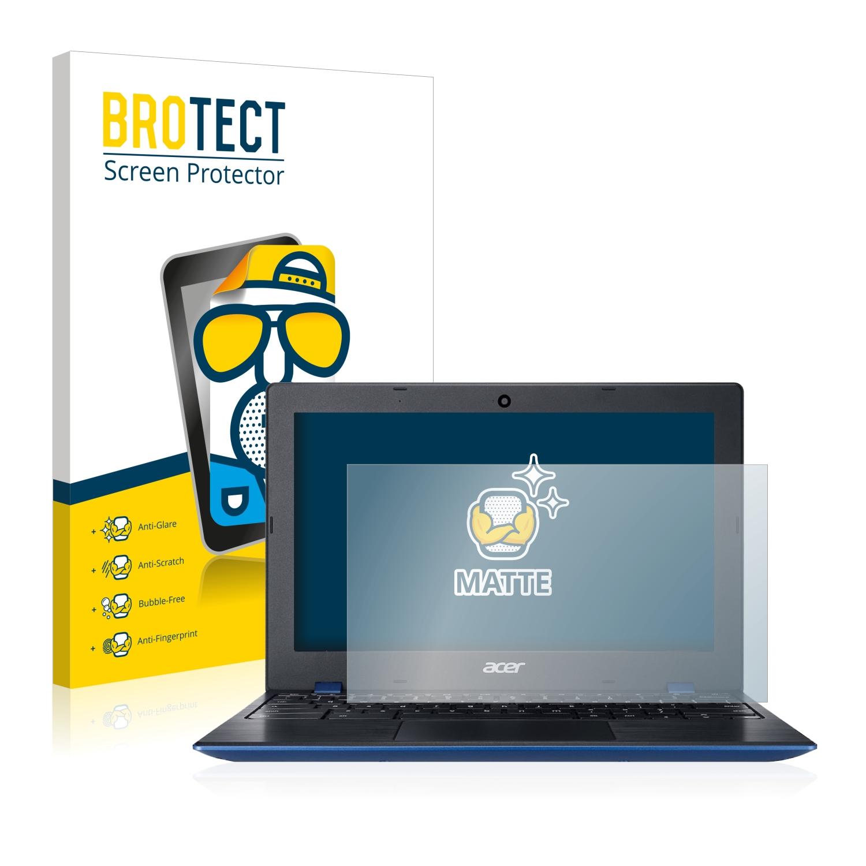2x BROTECT Matná ochranná fólie pro Acer Chromebook 11 CB311 - antireflexní,