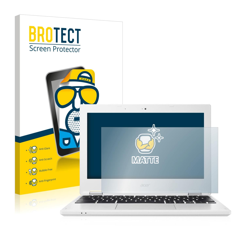 2x BROTECT Matná ochranná fólie pro Acer Chromebook 11 CB3-132 - antireflexní,