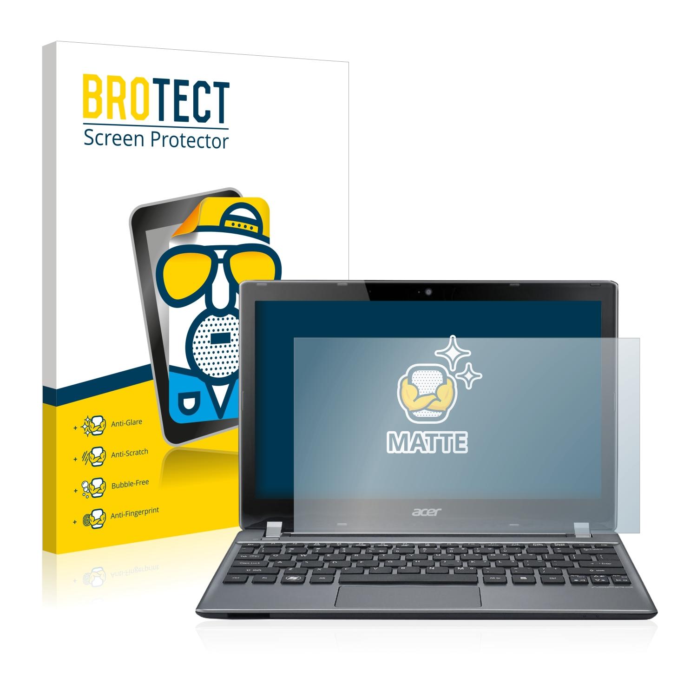 2x BROTECT matná ochranná fólie pro Acer Aspire V5-171-73518G50ass - antireflexní
