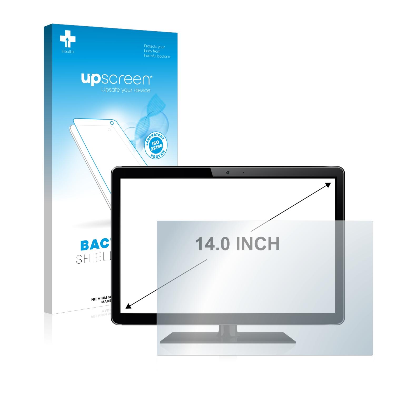 upscreen čirá Antibakteriální ochranná fólie pro displeje 14 palce [310 mm x 175 mm, 16:9]