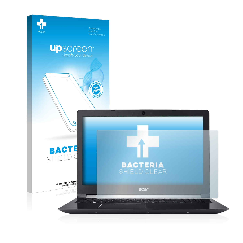 upscreen čirá Antibakteriální ochranná fólie pro Acer Aspire 7 A715-72G-517N