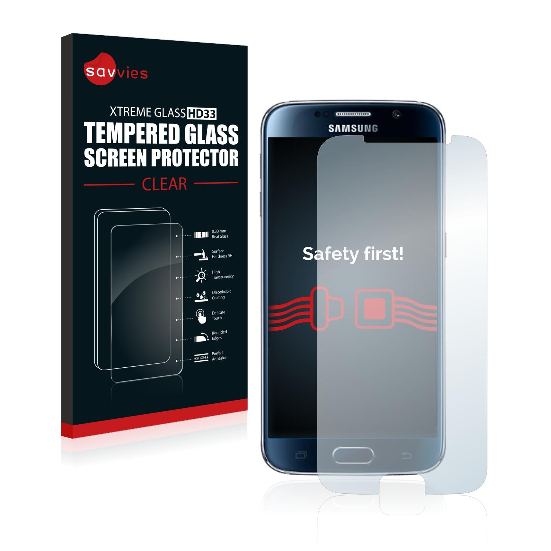 Savvies HD33 tvrzené ochranné sklo pro Samsung Galaxy S6