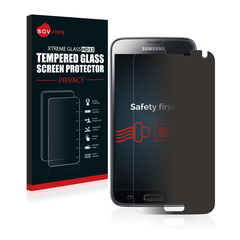 Savvies HD33 privátní tvrzené sklo pro Samsung Galaxy S5