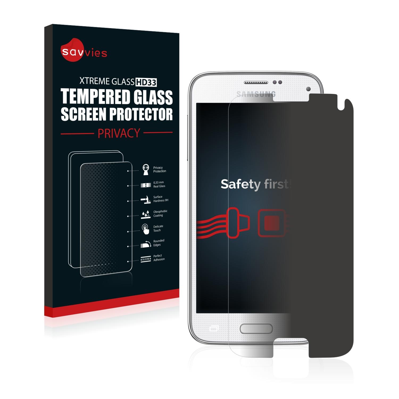 Savvies HD33 privátní tvrzené sklo pro Samsung Galaxy S5 Mini SM-G800