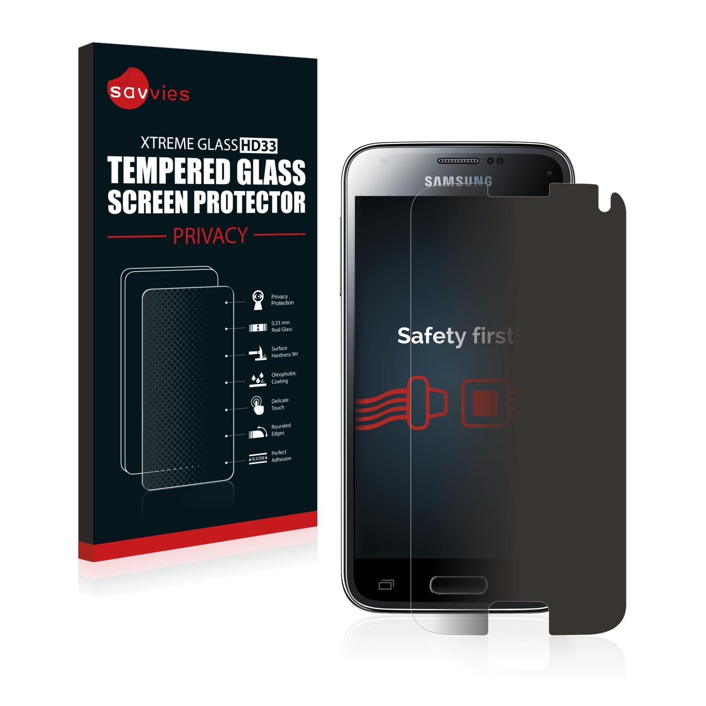 Savvies HD33 privátní tvrzené sklo pro Samsung Galaxy S5 Mini M-G800