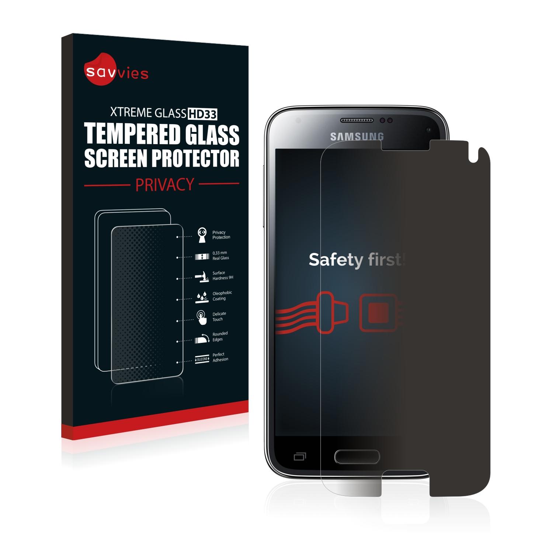 Savvies HD33 privátní tvrzené sklo pro Samsung Galaxy S5 Mini SM-G800F
