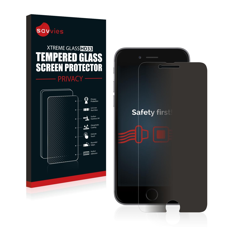 Savvies HD33 privátní tvrzené sklo pro Apple iPhone 6
