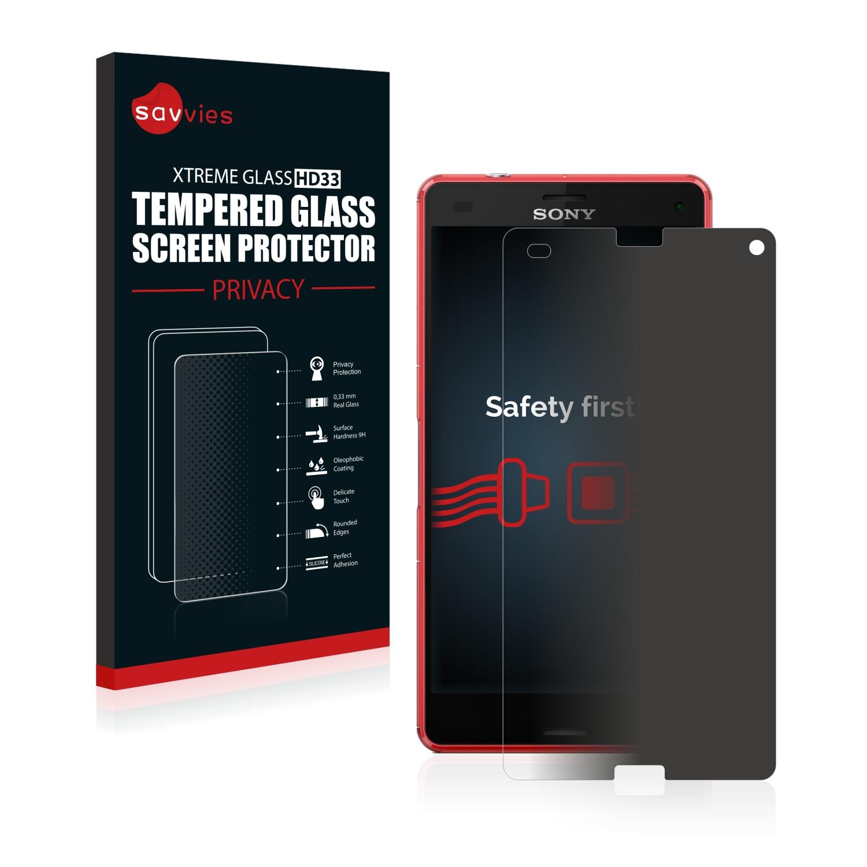 Savvies HD33 privátní tvrzené sklo pro Sony Xperia Z3 Compact D5833