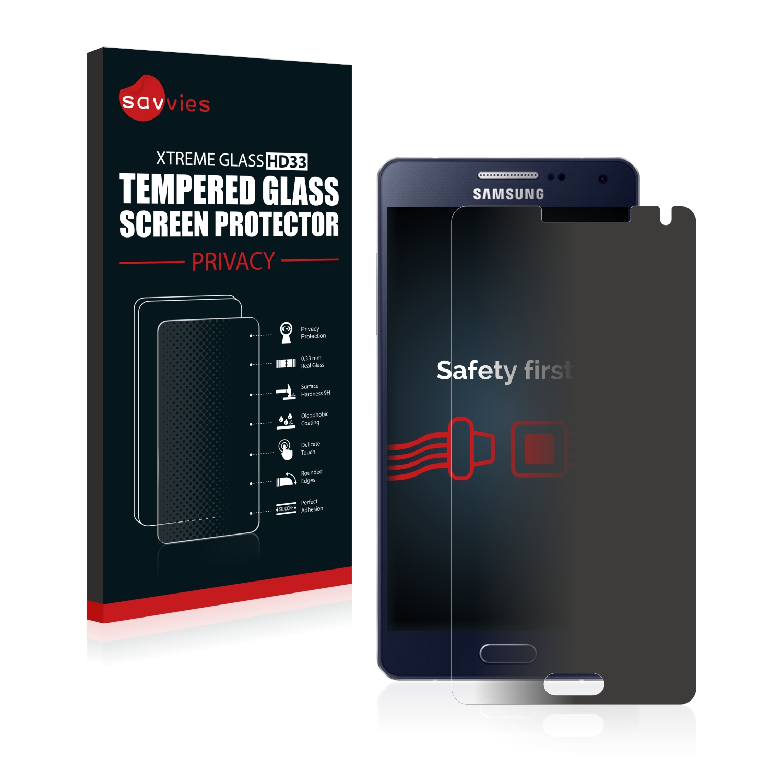 Savvies HD33 privátní tvrzené sklo pro Samsung Galaxy A5 2015