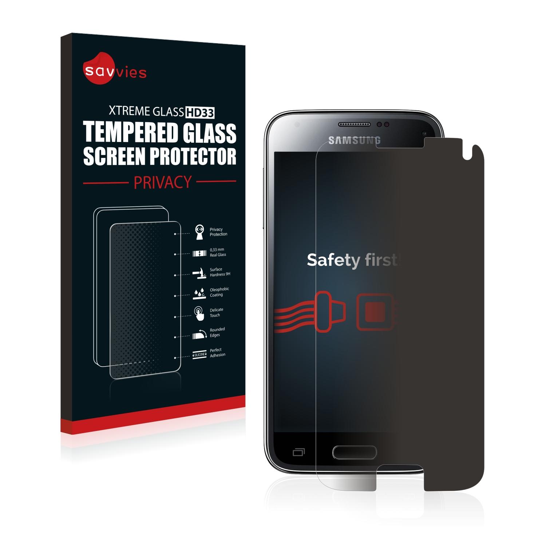Savvies HD33 privátní tvrzené sklo pro Samsung Galaxy S5 Mini Duos
