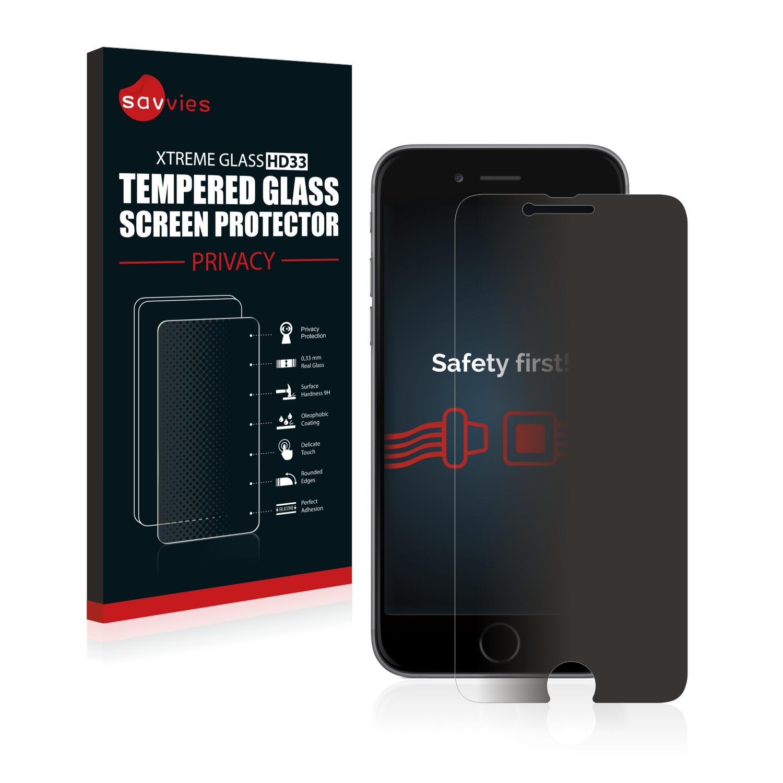 Savvies HD33 privátní tvrzené sklo pro Apple iPhone 6S