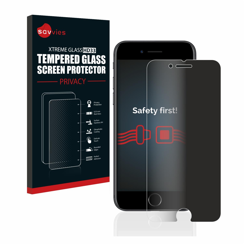 Savvies HD33 privátní tvrzené sklo pro Apple iPhone 7