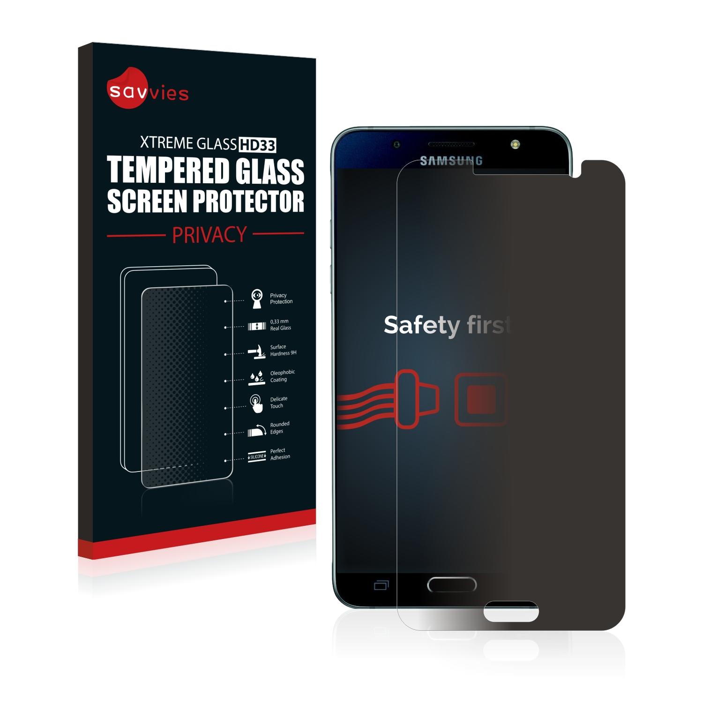 Savvies HD33 privátní tvrzené sklo pro Samsung Galaxy J5 Duos 2016