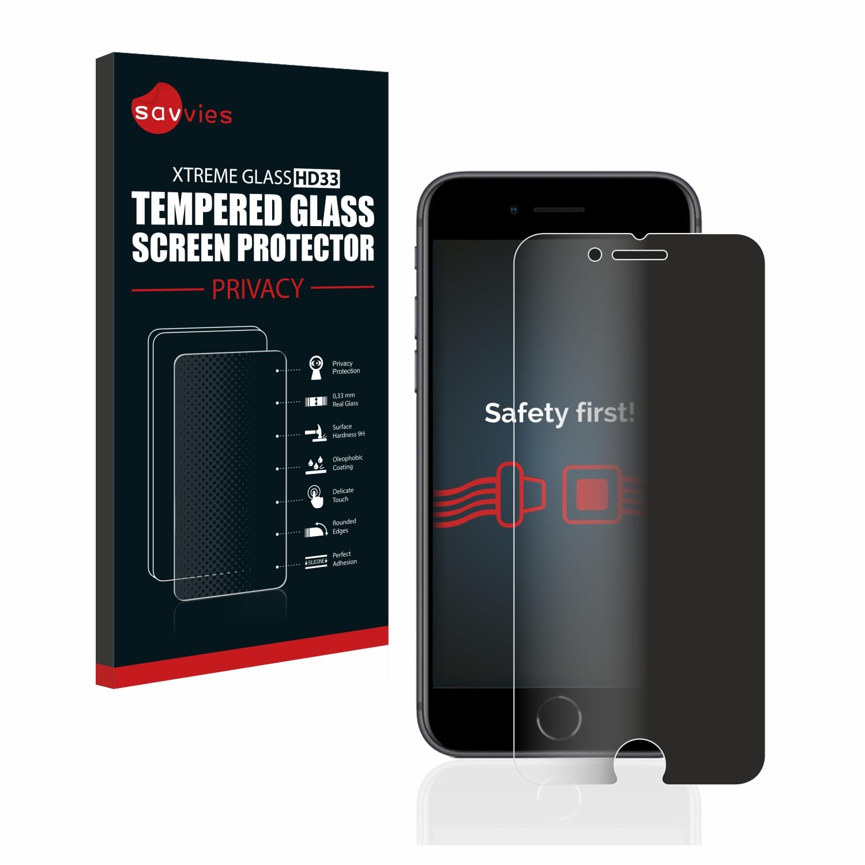 Savvies HD33 privátní tvrzené sklo pro Apple iPhone 8