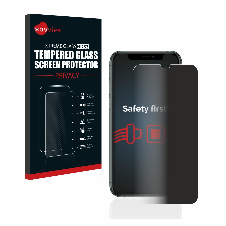 Savvies HD33 privátní tvrzené sklo pro Apple iPhone 11 Pro