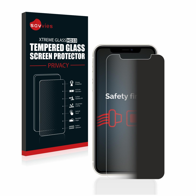 Savvies HD33 privátní tvrzené sklo pro Apple iPhone 11