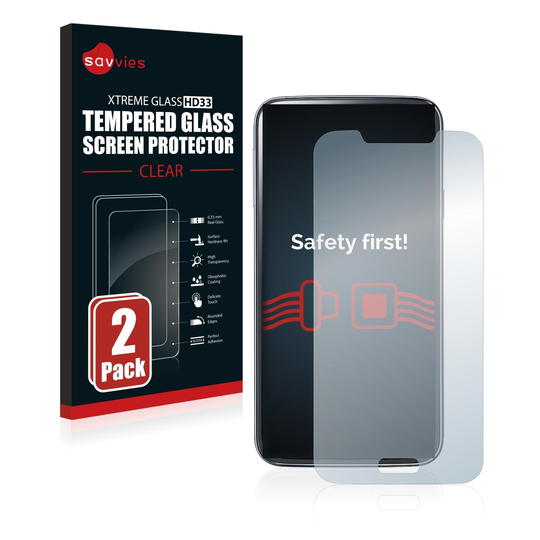 2x Savvies HD33 tvrzené ochranné sklo pro Samsung Galaxy S5