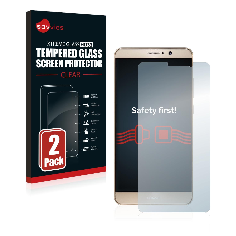 2x Savvies HD33 tvrzené ochranné sklo pro Huawei Mate 9