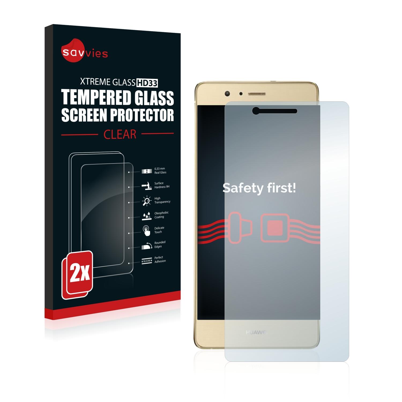 2x Savvies HD33 tvrzené ochranné sklo pro Huawei G9 Lite
