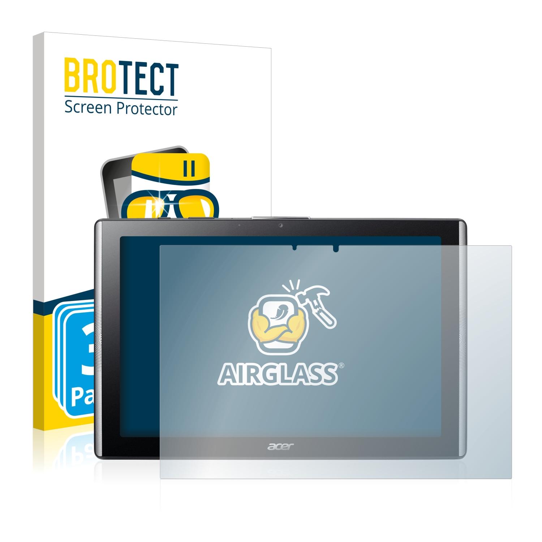 3x BROTECT AirGlass čiré ochranné sklo pro Acer Iconia One 10 B3-A40