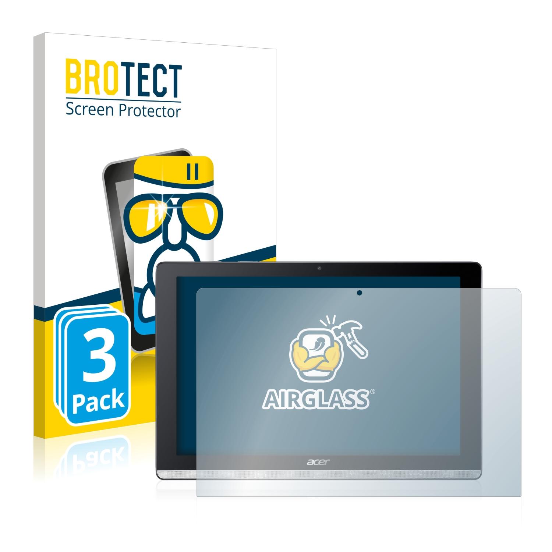 3x BROTECT AirGlass čiré ochranné sklo pro Acer Iconia One 10 B3-A50