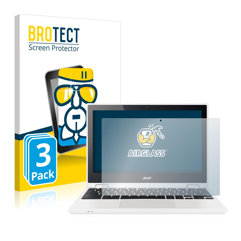 3x BROTECT AirGlass čiré ochranné sklo pro Acer Chromebook R11 CB5