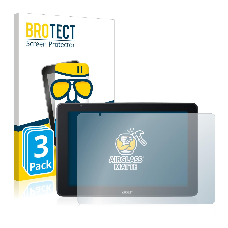 3x BROTECT AirGlass Matné ochranné sklo pro Acer One 10 S1003