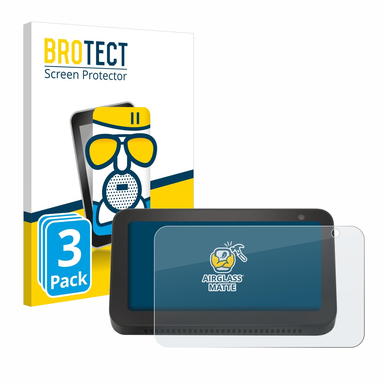 3x BROTECT AirGlass Matné ochranné sklo pro Amazon Echo Show 5 (3. Generation)