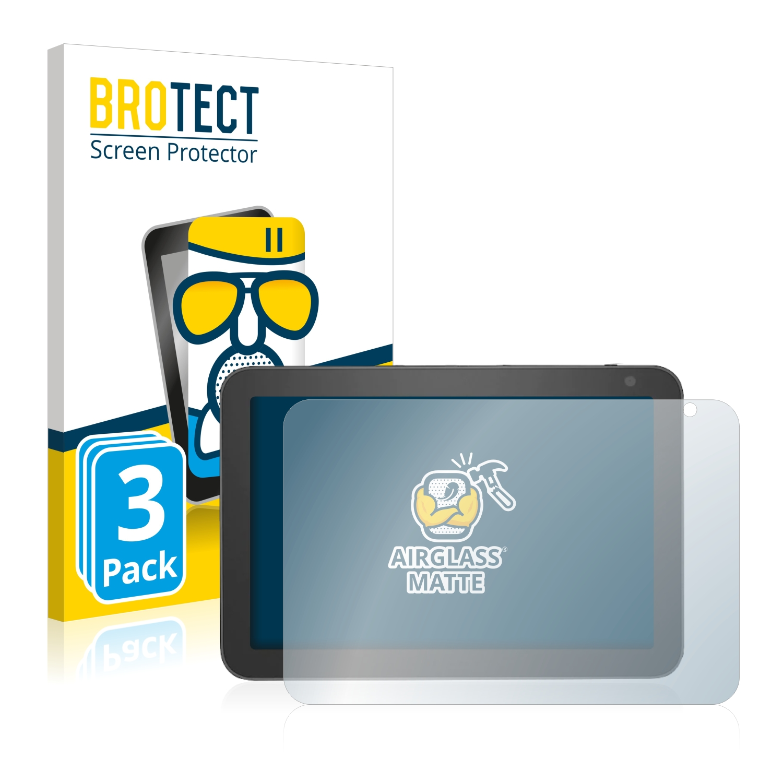 3x BROTECT AirGlass Matné ochranné sklo pro Amazon Echo Show 8 (4. Generation)