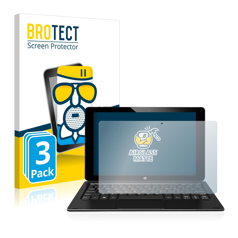 3x BROTECT AirGlass Matné ochranné sklo pro Alldocube iwork 10 Pro