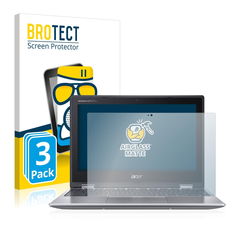 3x BROTECT AirGlass Matné ochranné sklo pro Acer Chromebook Spin 311